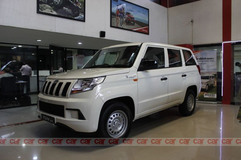 Nine-seater Mahindra TUV300 Plus Priced at Rs 9.57 Lakh
