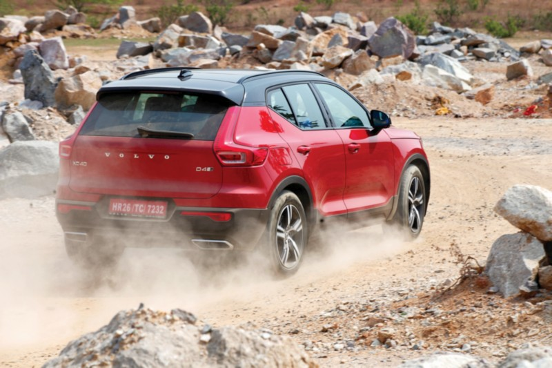 Volvo Xc40 D4 Awd R Design India First Drive Review Page 2 Of 2