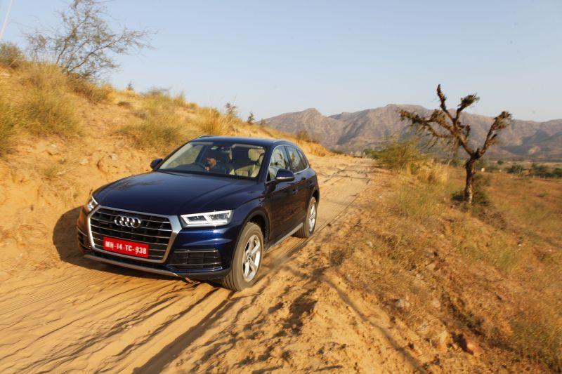 Audi Q5 2.0 TDI Road test review in India