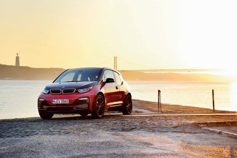 BMW i3s electric hatch back car Portugal First Drive Review