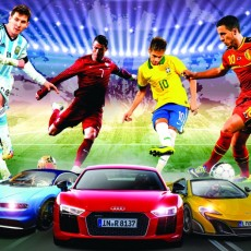 2018 FIFA World Cup Special: Stars And Their Supercars