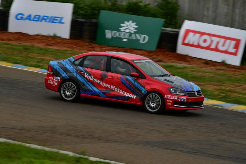 Made and developed in India Volkswagen Vento TC4-A racecar ready to race