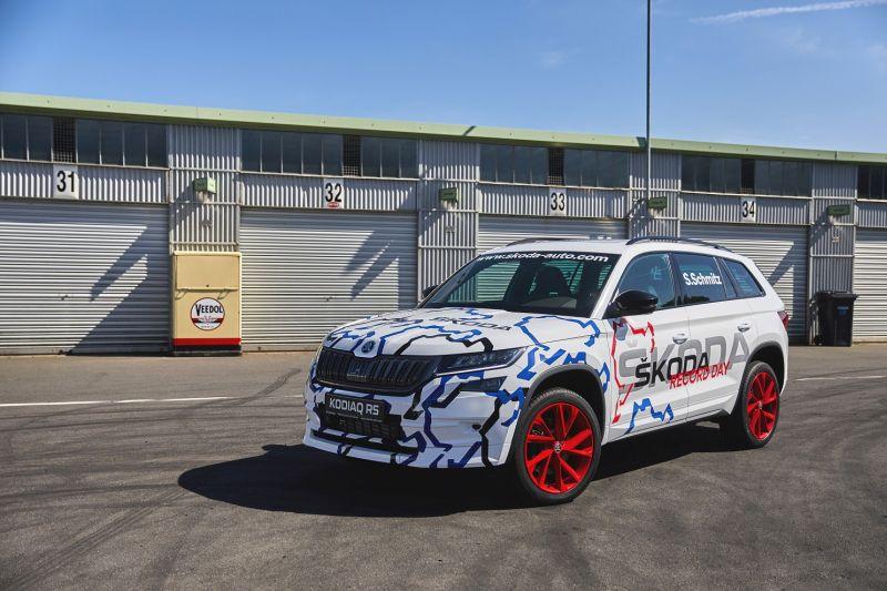 Kodiaq vRS Nurburgring