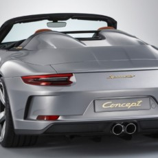 70 Years of Porsche – 911 Speedster Concept and Taycan Revealed