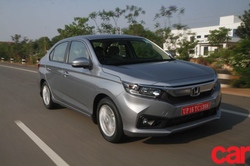 Honda's sales increase by 41 percent helped mainly by the all new Amaze