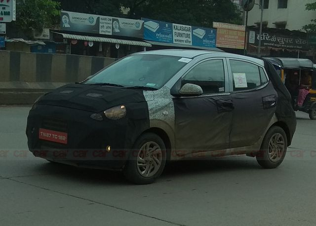 2019 Hyundai Santro spied before launch