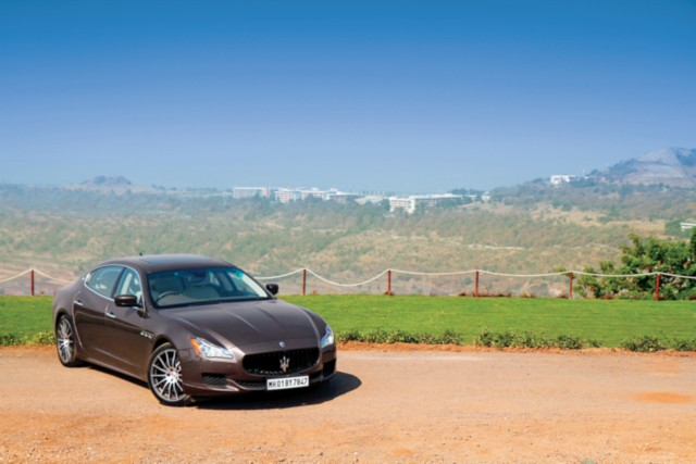Maserati Quattroporte Gts First Drive Review Car India