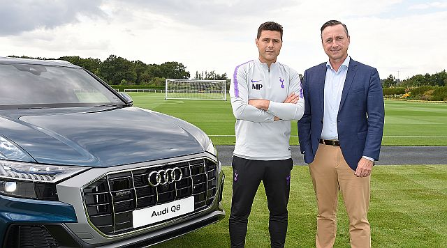 Audi Team Up With Tottenham Hotspur FC