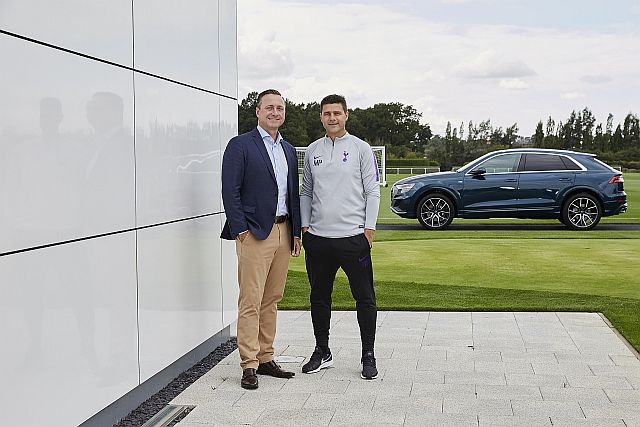 Audi Team Up With Tottenham Hotspur