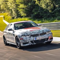 New BMW 3 Series Heads to the Nürburgring