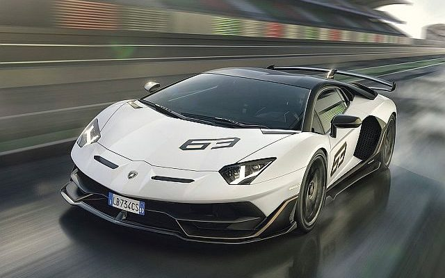 Lamborghini Aventador SVJ Revealed at Pebble Beach