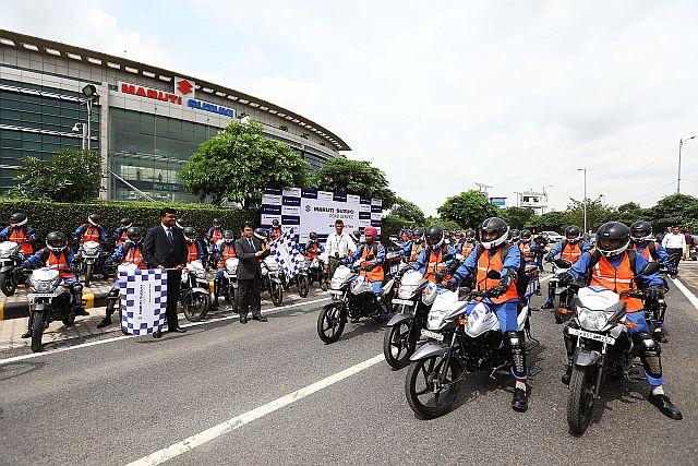 Maruti Suzuki Launch 'Quick Response Team'