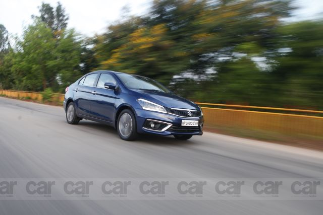 New Maruti Suzuki Ciaz Smart Hybrid Petrol Review by Car India magazine