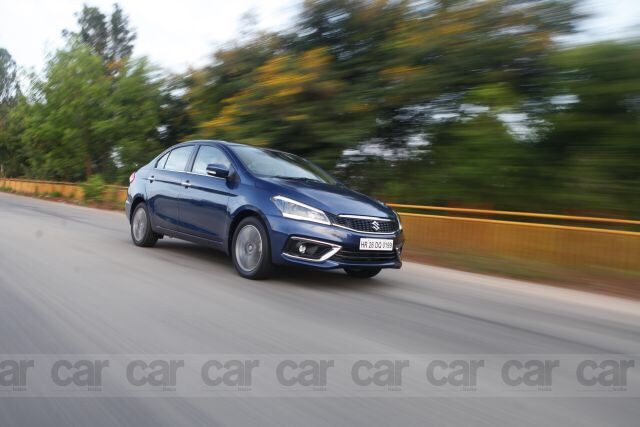 Maruti Suzuki Ciaz facelift tested in India