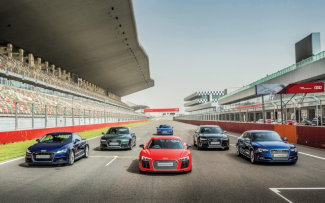 Audi Track Experience