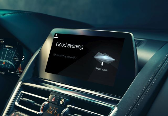 BMW Intelligent Personal Assistance