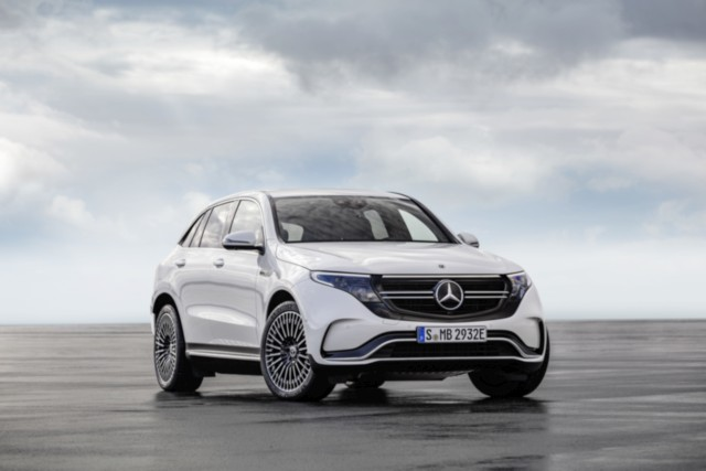 Mercedes-Benz EQC 400 4MATIC electric luxury SUV