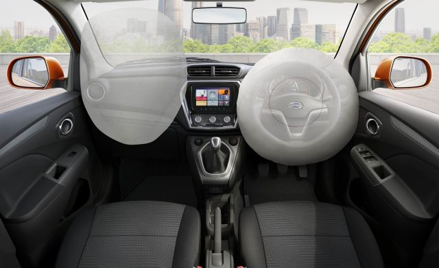 2018 Datsun GO and GO+ come with dual airbags and 7-inch touchscreen