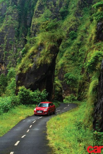 We take the Maruti Suzuki Swift to the wettest place on Earth