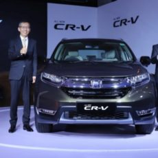 All New Honda CR-V Launched in India