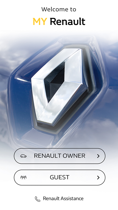 my renault app with more features launched car india. Black Bedroom Furniture Sets. Home Design Ideas