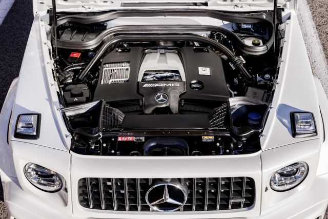 Mercedes-AMG G 63 Engine