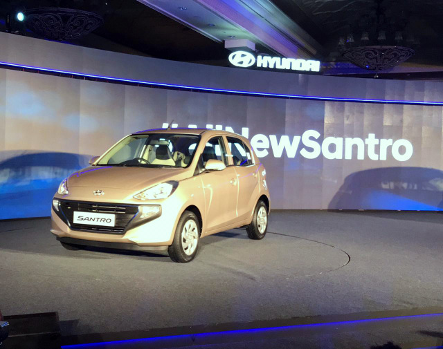 New Hyundai Santro Launched at Rs 3.90 lakh onward
