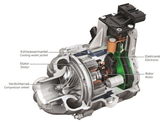 Audi SQ7 TDI Electric powered compressor (EPC)