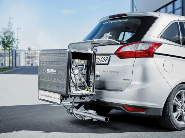 Bosch mobile mess technik real world emissions test