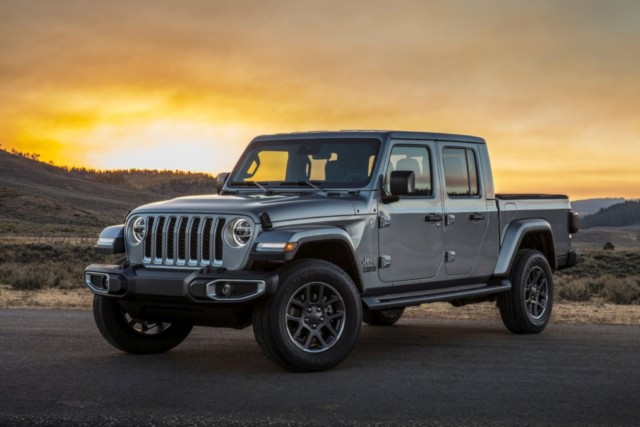 Jeep Gladiator LA Auto Show