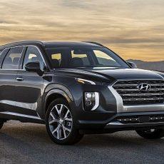 #LA2018 New Hyundai Palisade Full-size SUV