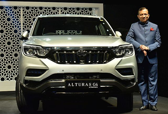 Mahindra Alturas G4 Officially Launched
