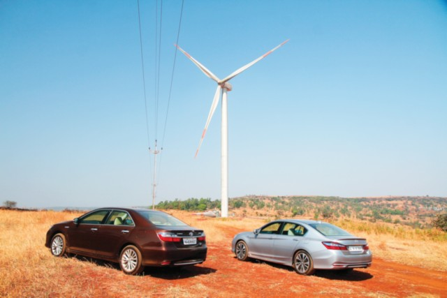 Toyota Camry and Honda Accord Petrol Hybrid