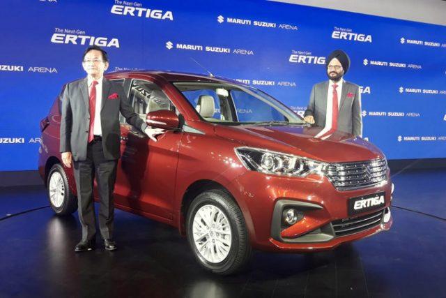 2019 Maruti Suzuki Ertiga Launched