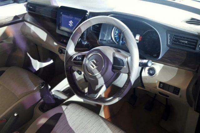 2019 Maruti Suzuki Ertiga Steering Wheel