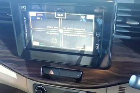 2019 Maruti Suzuki Ertiga Infotainment Touchscreen