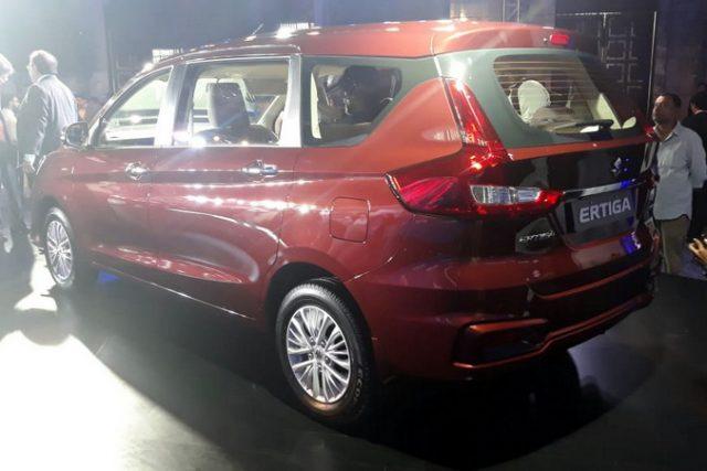2019 Maruti Suzuki Ertiga Rear Exterior