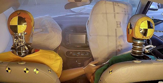 Hyundai Introduces World's First Multi-Collision Airbag System