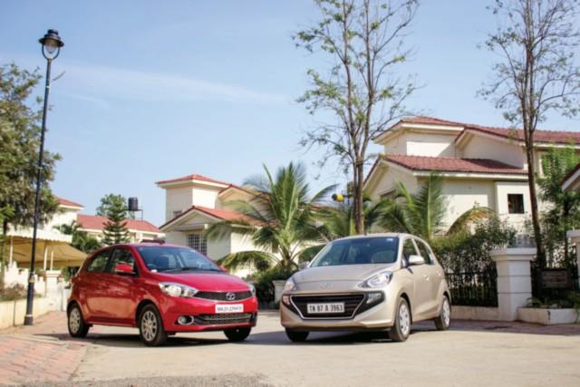 Hyundai Santro v Tata Tiago