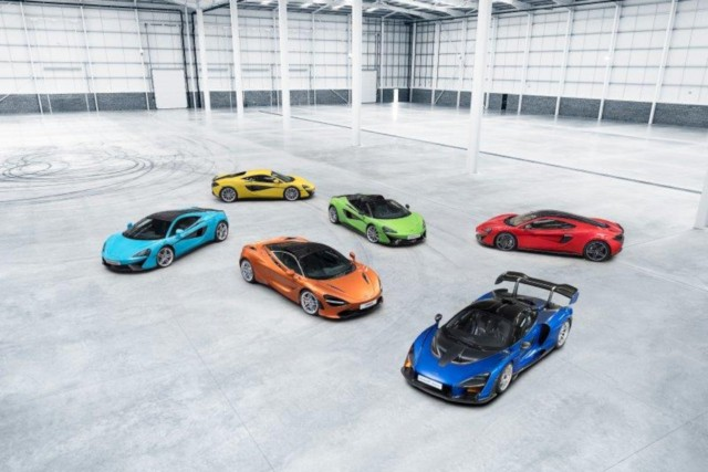 McLaren model range sales record
