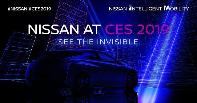 Nissan Unveil Invisible-To-Visible Tech Concept At CES