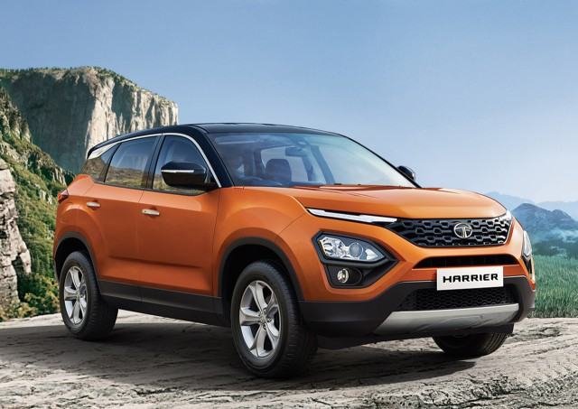 Dual Tone Tata Harrier India launch price