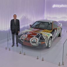 BMW 14th Art Car Comes To India