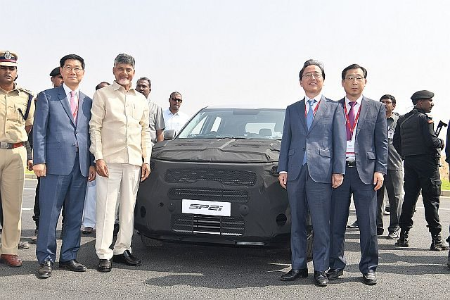 Kia Begin Trial Production of Compact SUV in India