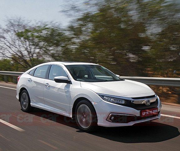 New Honda Civic test drive in India