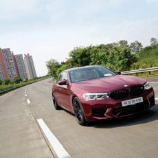 BMW M5 Road Test Review – Motion Blur