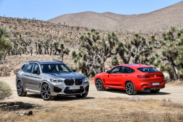 New BMW X3 M Competition and X4 M Competition