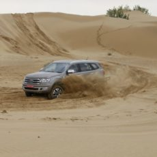 New Ford Endeavour 3.2 AT 4×4 First Drive Review – High and Mighty