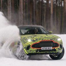Aston Martin DBX Hits the Snow