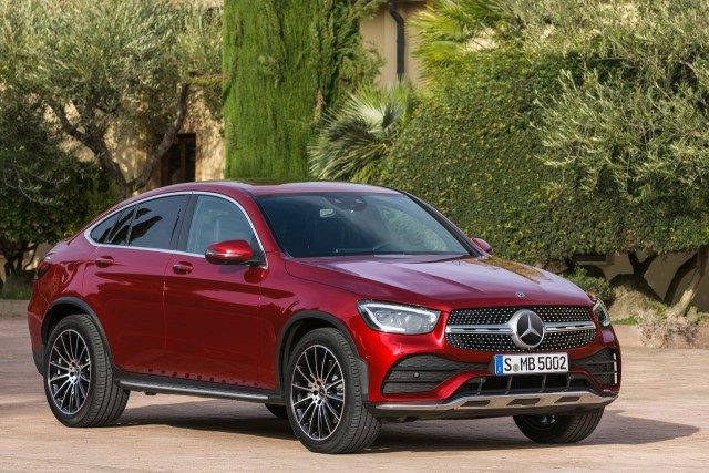 New Mercedes-Benz GLC Coupé Revealed